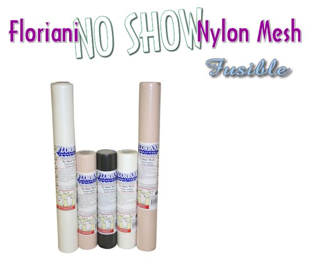 Floriani's No Show Nylon Mesh - Fusible