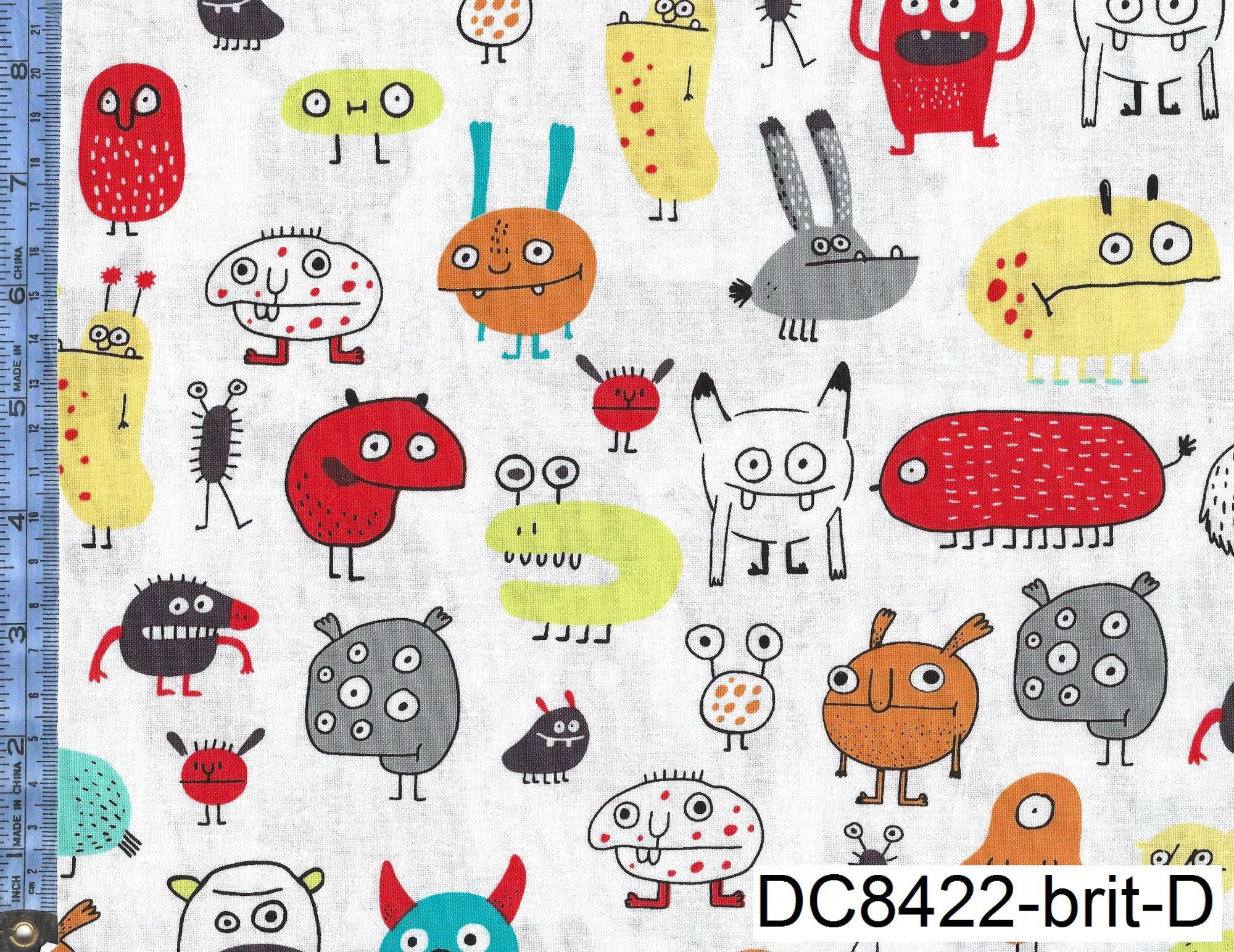 I Want a Monster from Michael Miller Fabrics