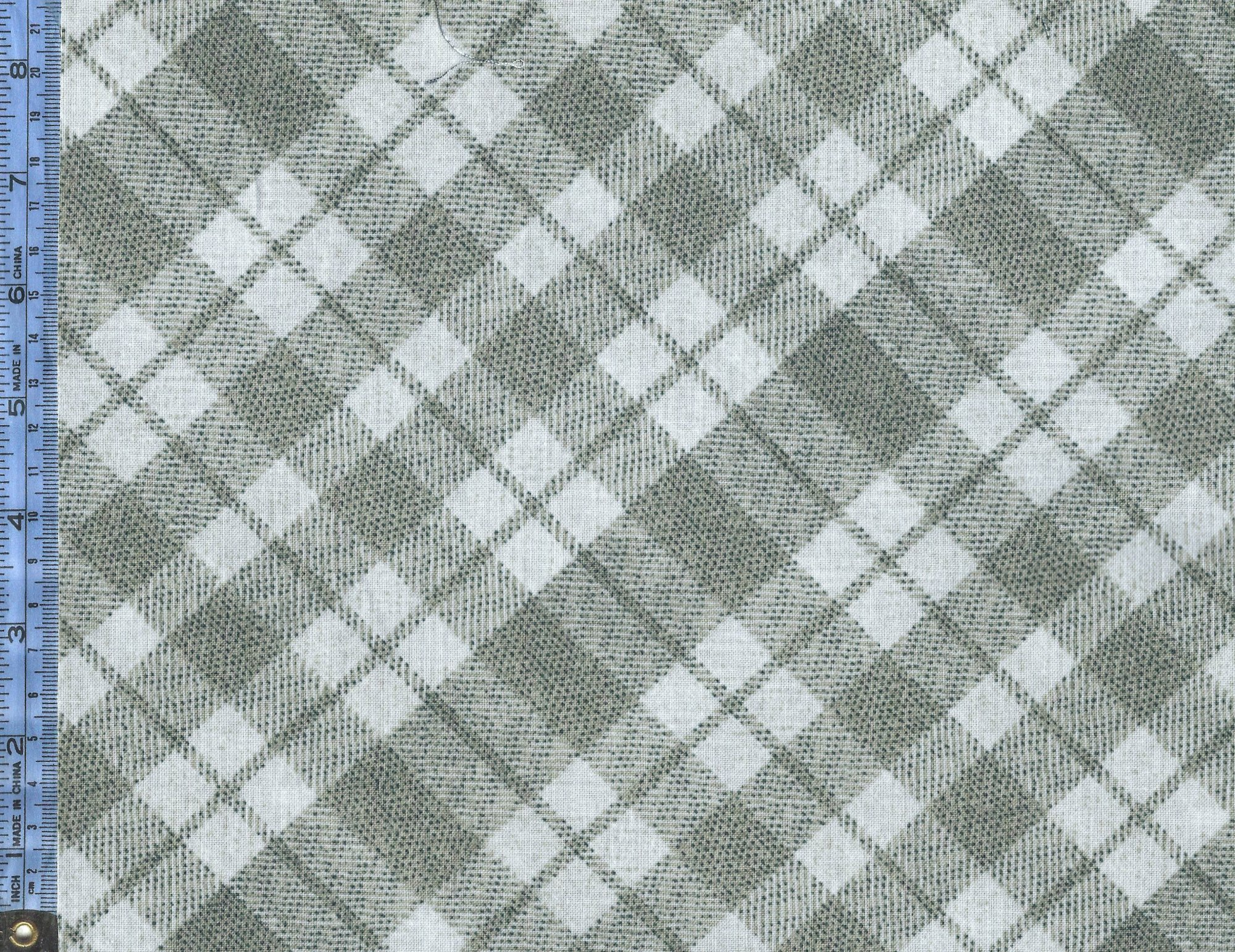 Into the Woods II - (8724-79) light taupe and light gray plaid