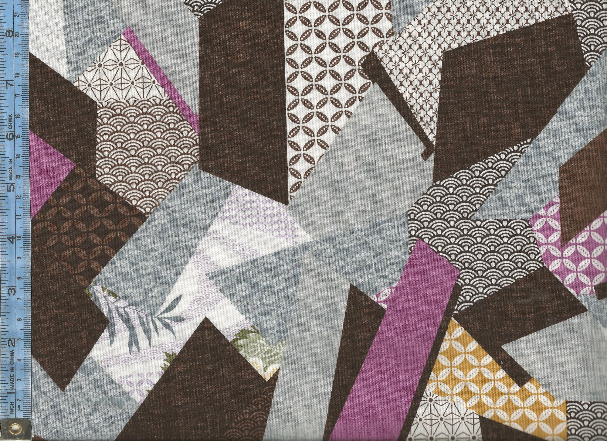 Kimono Garden - (3101-33) assorted patterned fragments