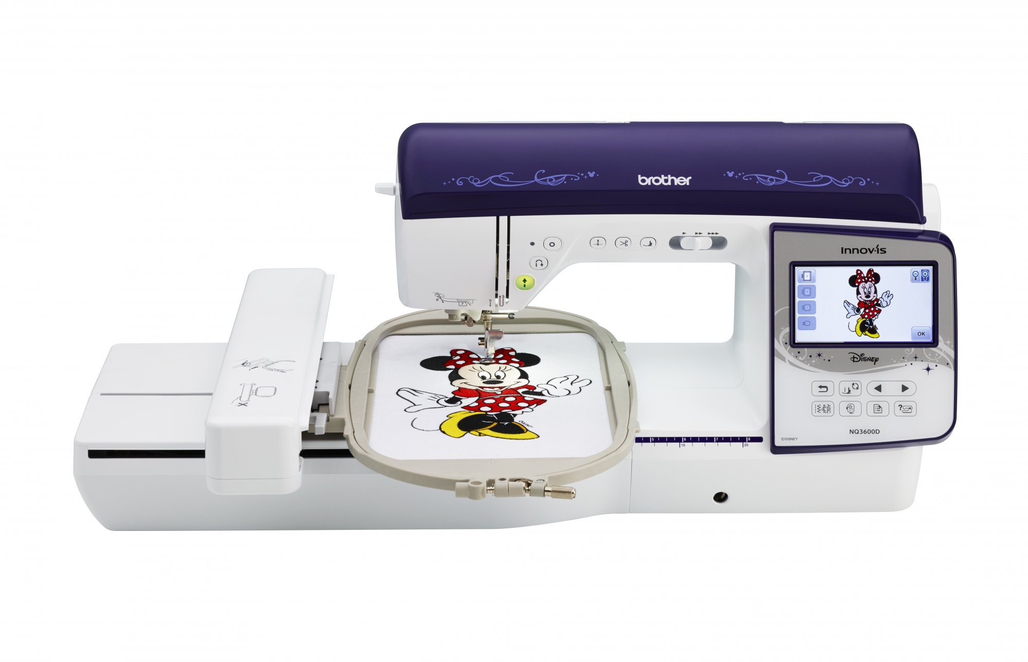 Brother NQ3600D Combo Sewing and Embroidery
