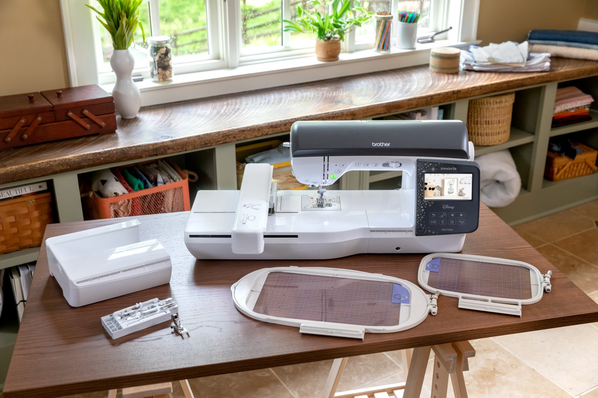 Brother NQ3700D Combo Sewing and Embroidery Disney