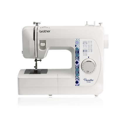 Brother Sewing Machine, 17 Built In Stitches 1 One Step Buttonhole