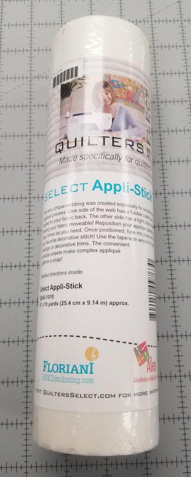 Select Appli-stick 10 x 10 yds
