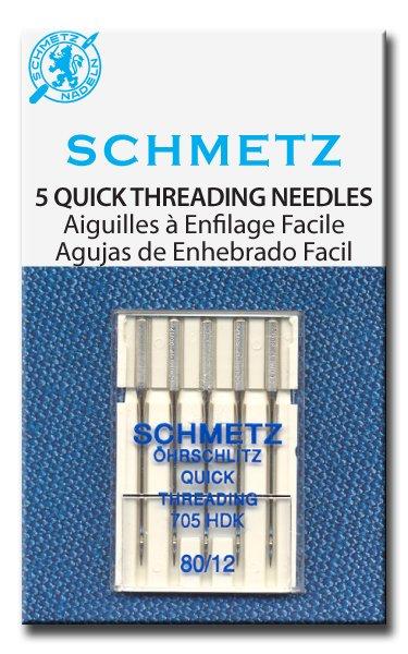 Schmetz Quick Threading Needles 80/12