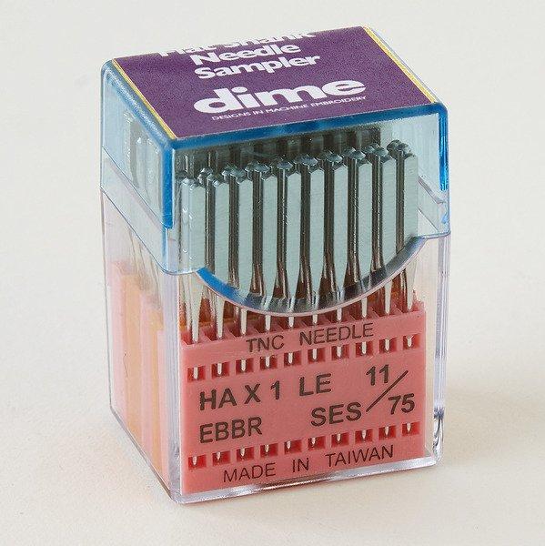 Triumph Needle Flat Shank Sampler Pack-100 asst needles