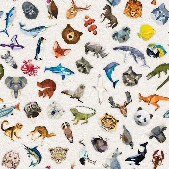 Zookeeper from Hoffman Fabrics