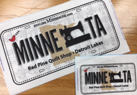 RxR Mini License Plate 2018
