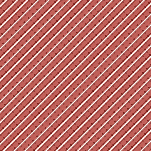 Home Grown Stripe Red 6804-10