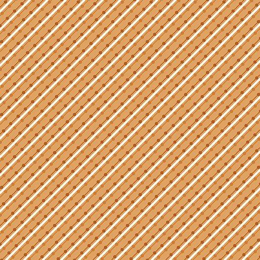 Home Grown Stripe Orange 6804-22