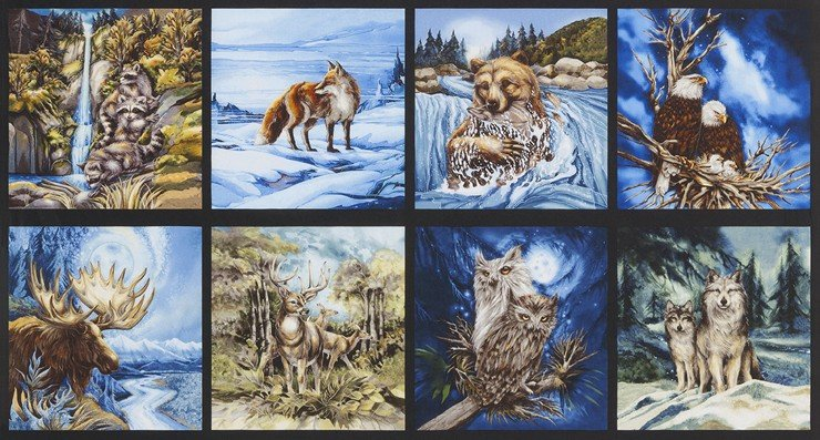 North American Wildlife ABKD-15067-169 Earth