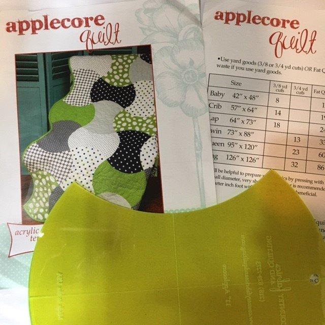 Applecore Quilt Pattern & Template Set