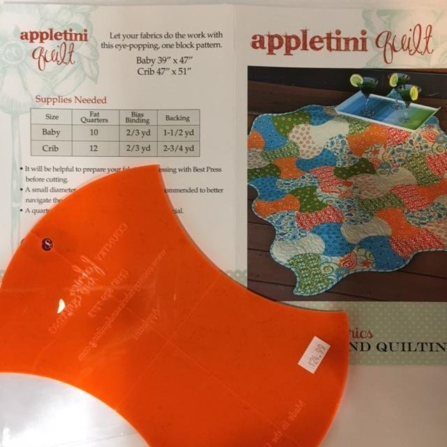 Appletini Quilt Pattern & Template Set
