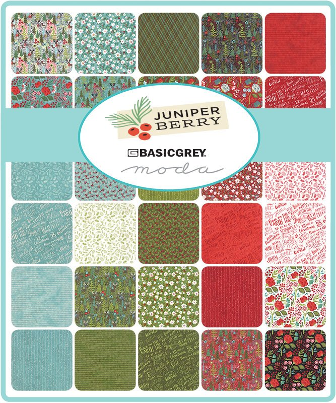 Juniper Berry Fat Quarters 15pcs by BasicGrey