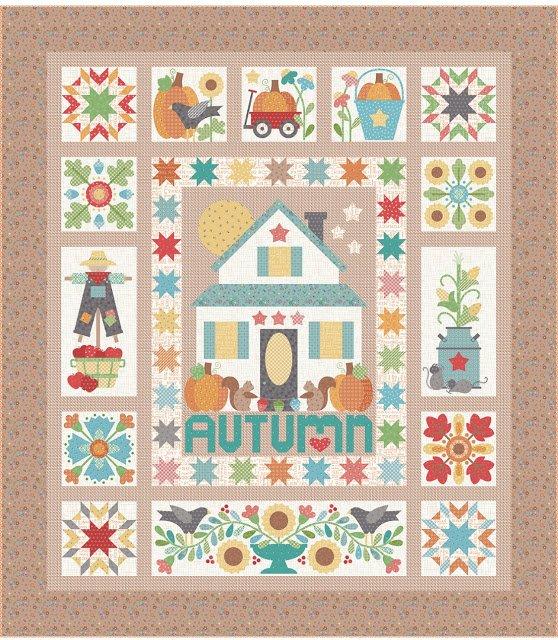 Autumn Love Quilt Kit