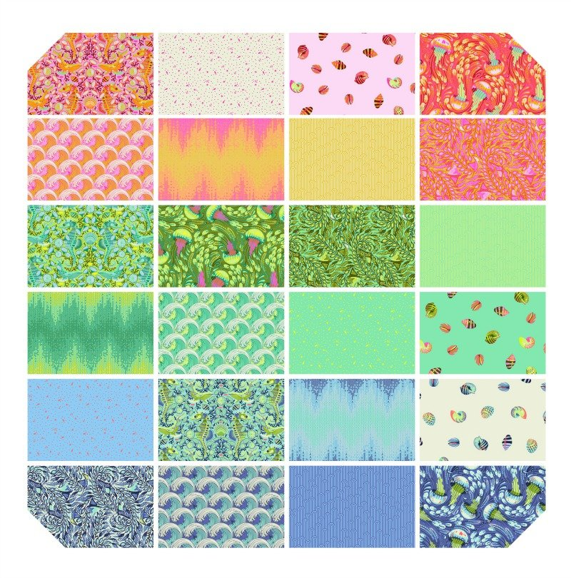 Zuma by Tula Pink Fat Quarter Bundle 24pcs