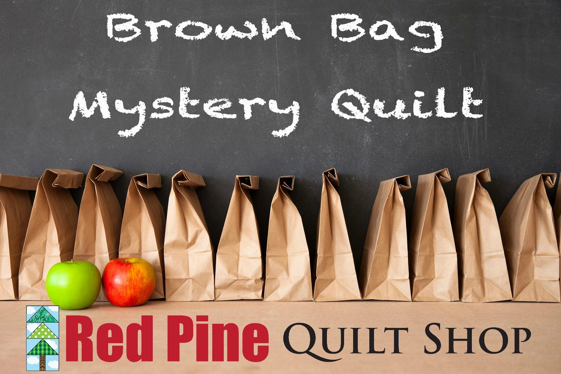Brown Bag Check Please Mystery Kit