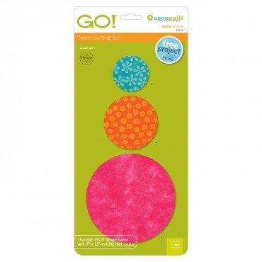 AccuQuilt GO! Circle-2 3 5 55012