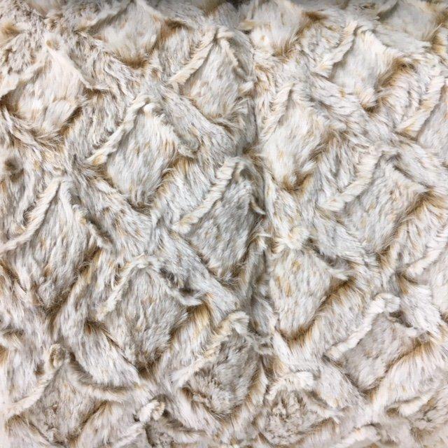 Cuddle Infinity Scarf Kit  Frosted Gem Camel/Beige
