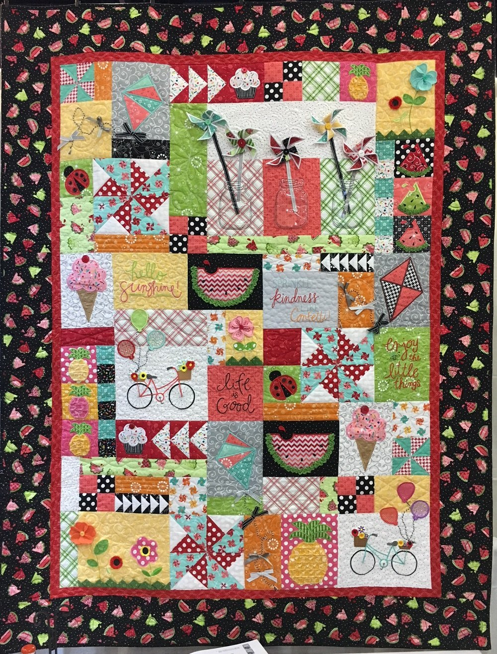 Hello Sunshine Quilt Kit