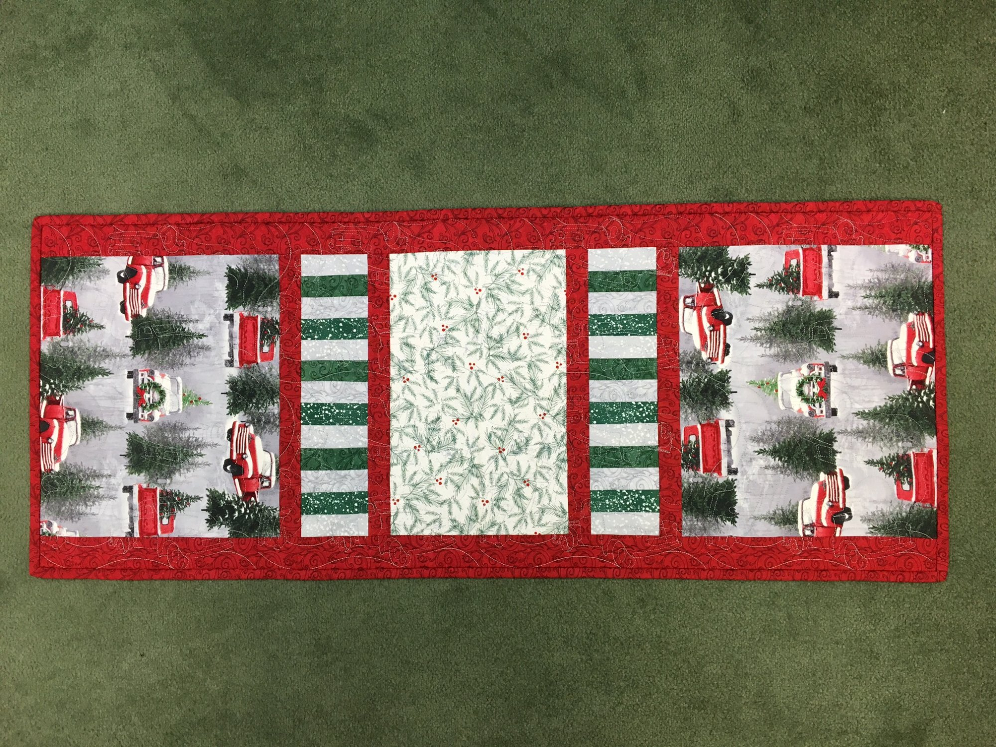 Holiday Traditions Table Runner