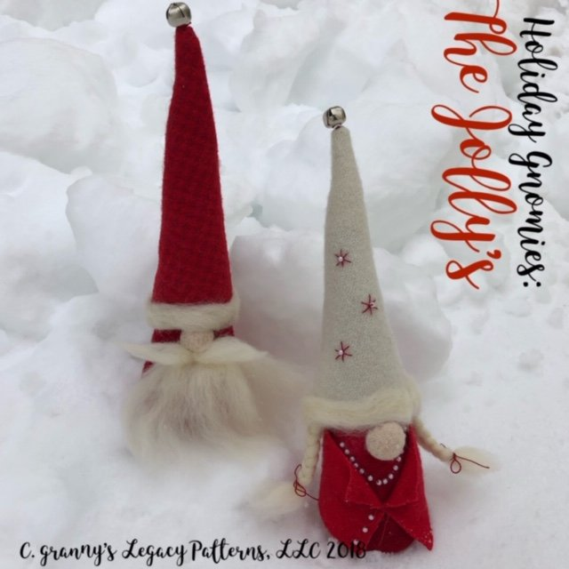 Holiday Gnomies - Jolly's Kit (red)