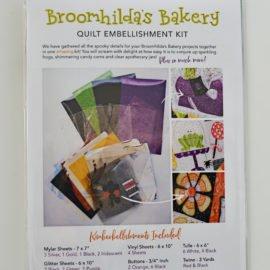 Broomhilda's Bakery Quilt Kit Black Border