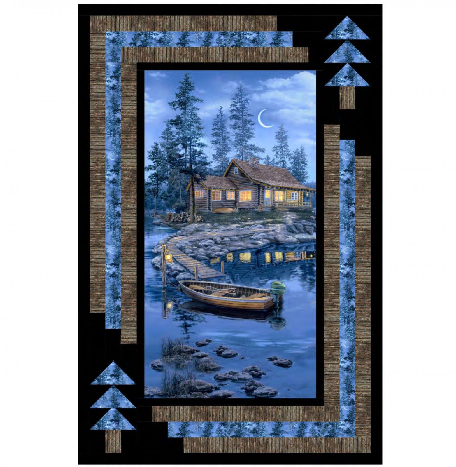Lakeside Retreat Kit with Lakeside Cabin by Darrell Bush