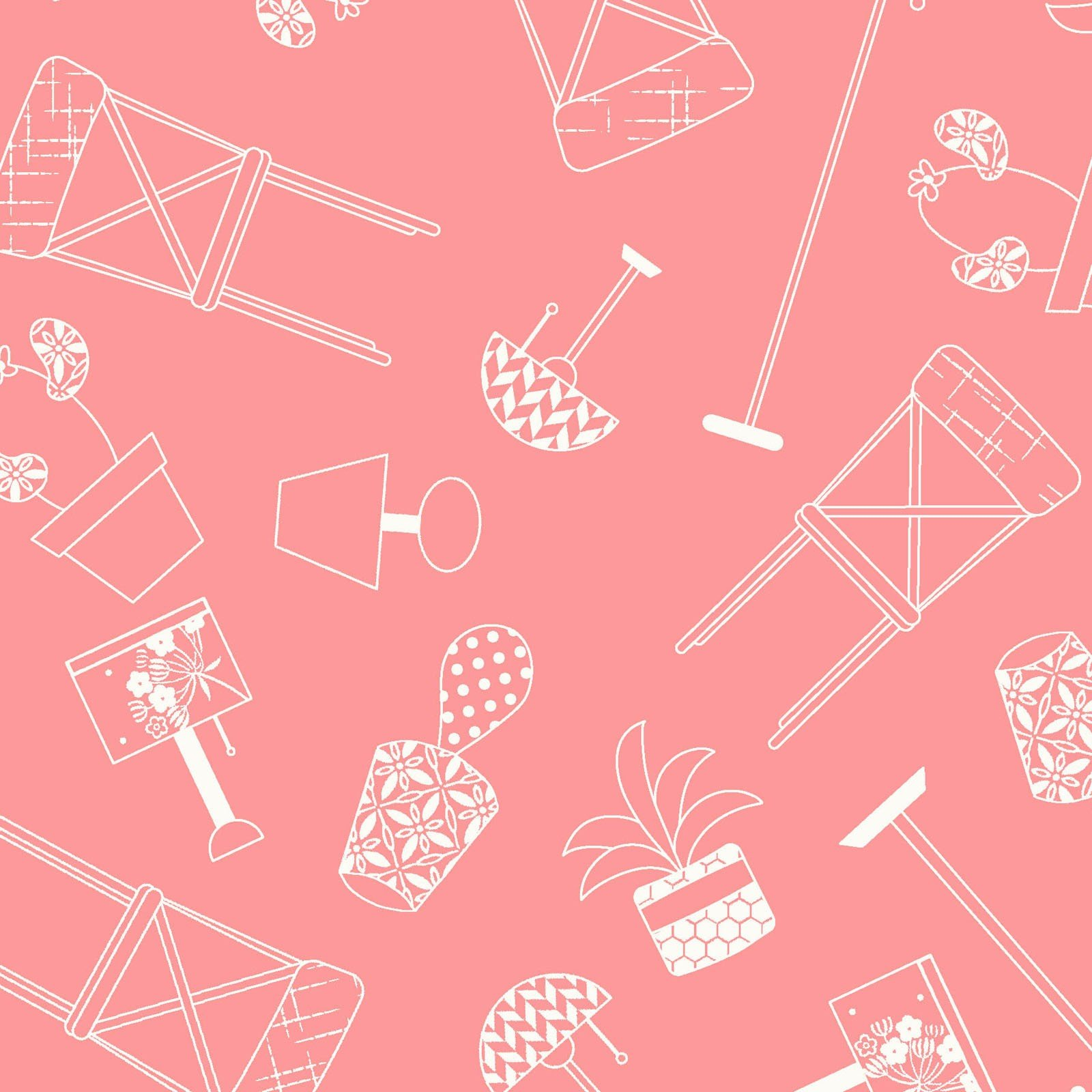 Make Yourself at Home Home Furnishings Pink MAS9393-P