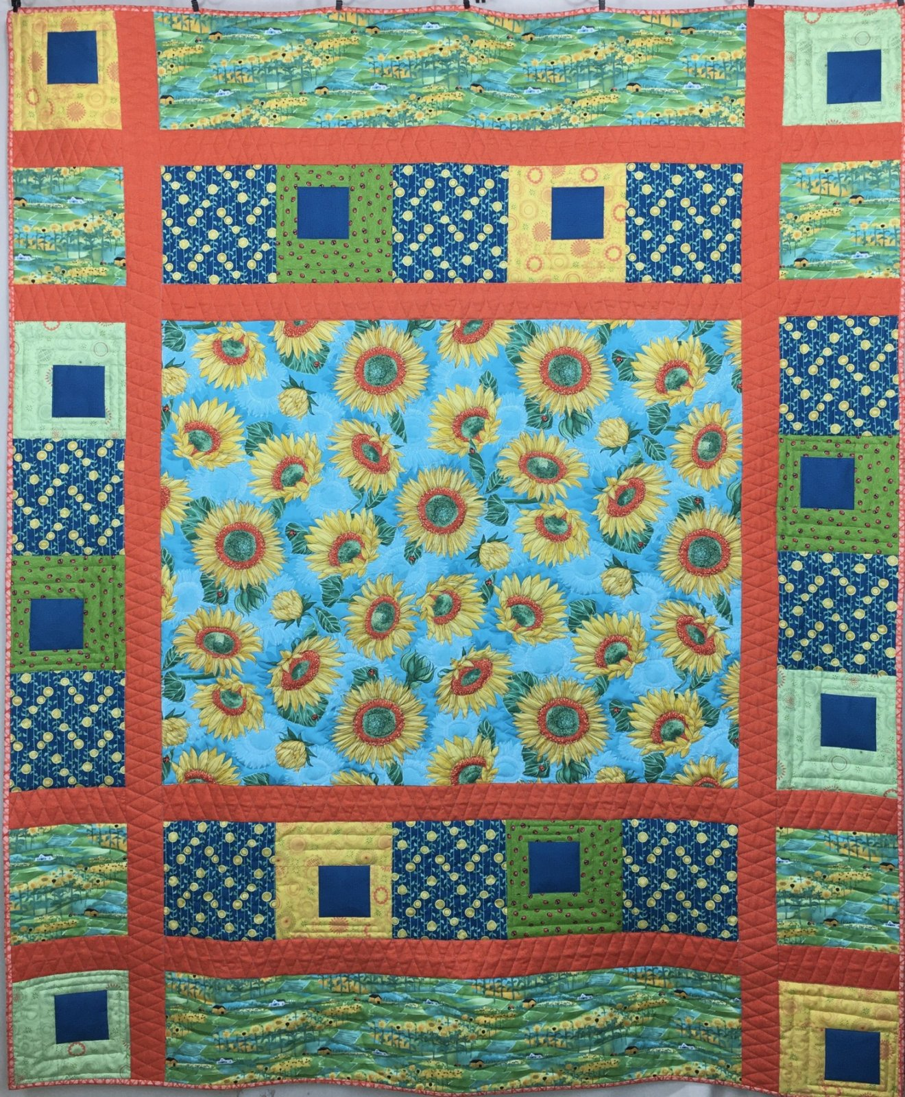 Out West Quilt Kit with Solana