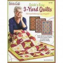 Quick 'n Easy 3-Yard Quilts: The revolutionary way to quilt!