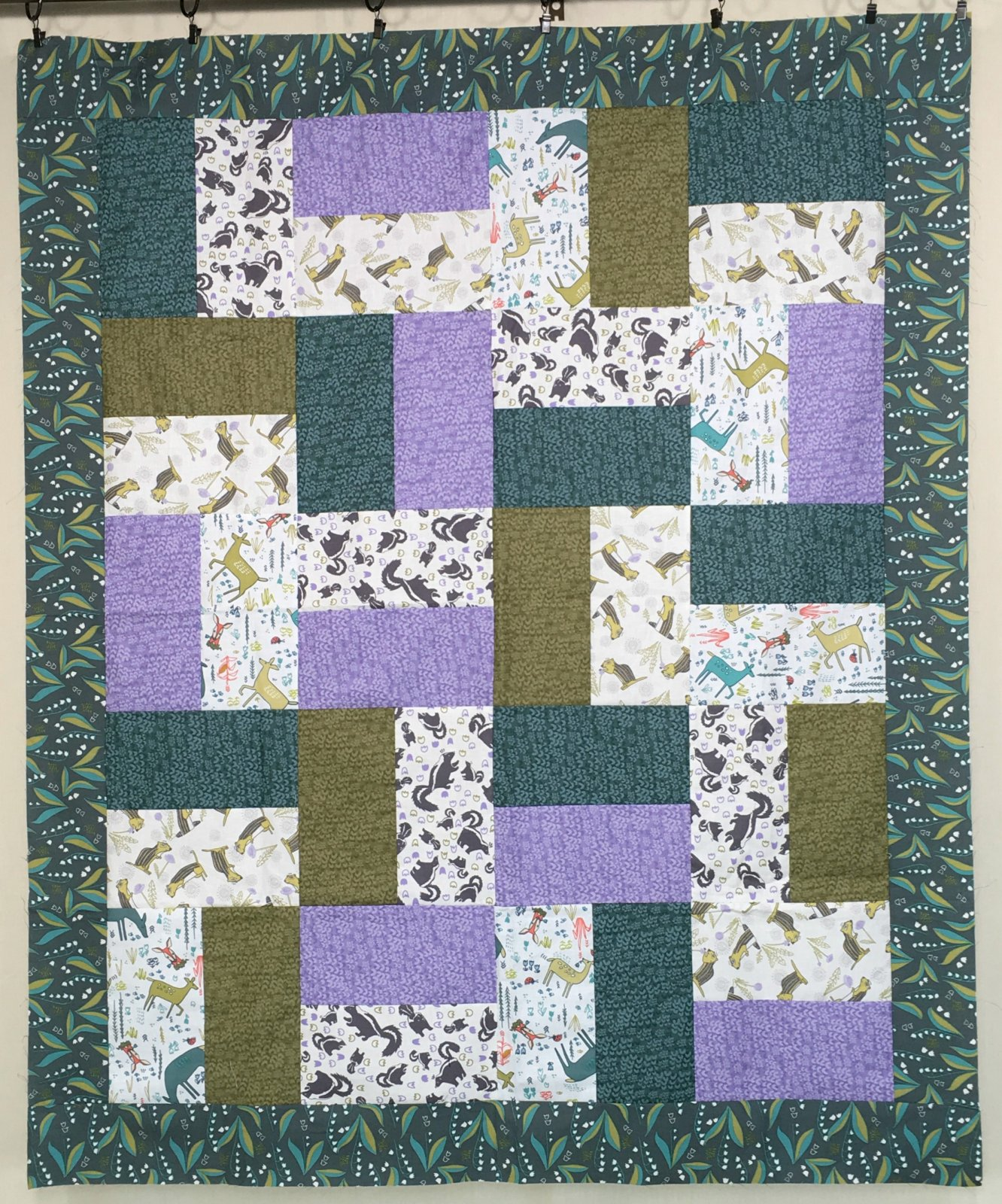Quick n' Easy Baby Quilt with Quilt MN 2018