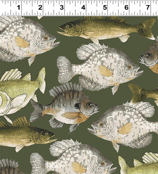Fish Dark Khaki 2199-13