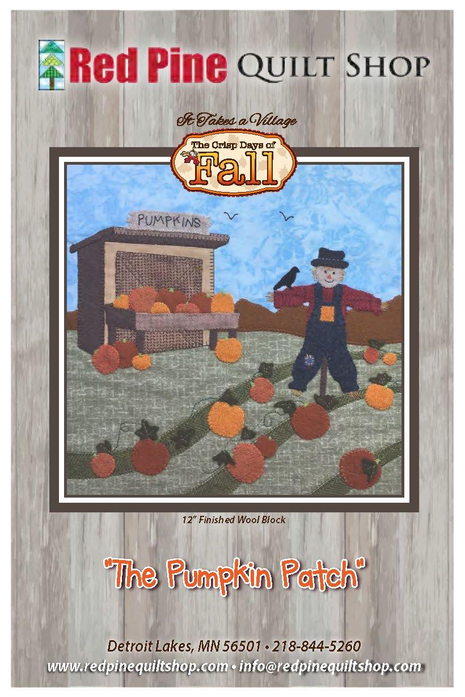 It Takes a Village The Pumpkin Patch Pattern