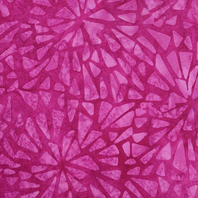 Sewing Sewcial 2020 Mosaic Burst Raspberry SH94