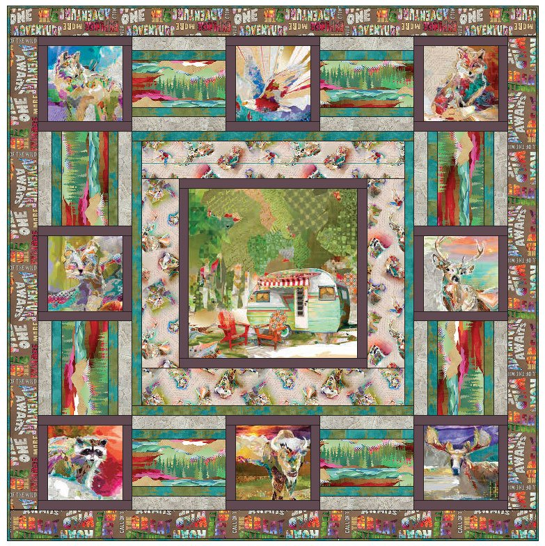 The Great Outdoors Quilt Kit
