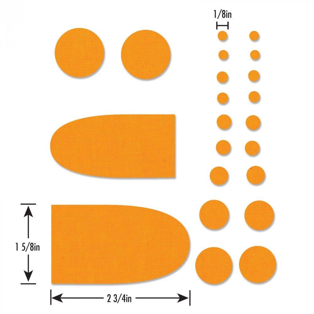 Sizzix Bigz Die - Penny Rug Circles & Tongues