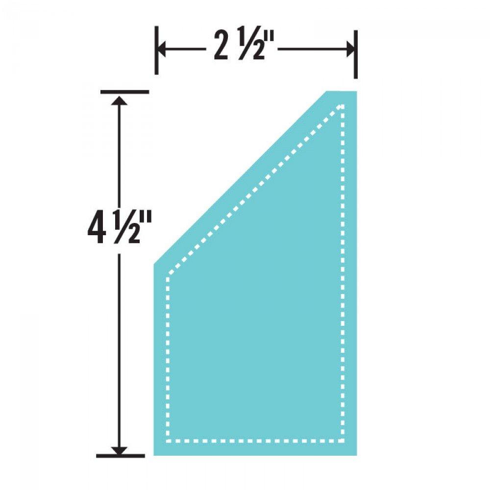 Sizzix Bigz Die - Trapezoid 2 1/2 x 4 1/2 Unfinished