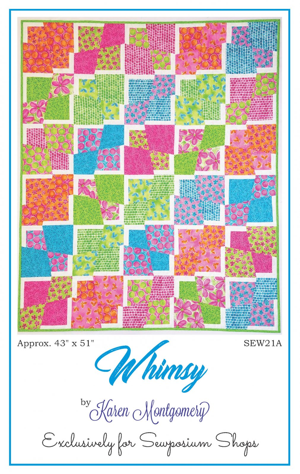 Whimsy Pattern by Karen Montgomery