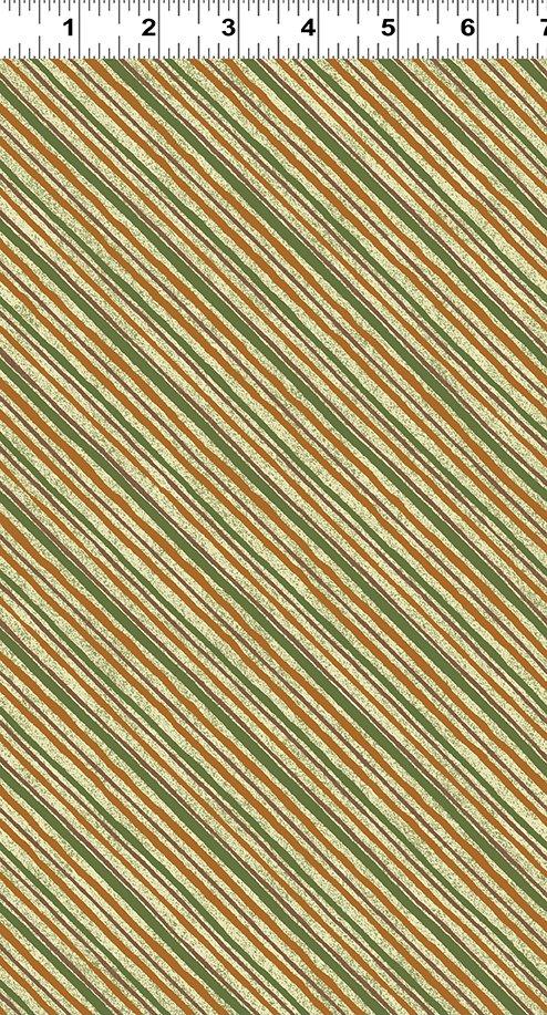 Quilt MN 2019 Diagonal Stripe Olive Y2751-24