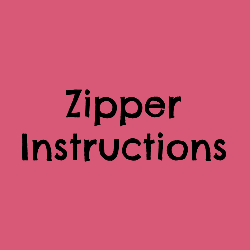 Zipper Instructions by The Quilt Company