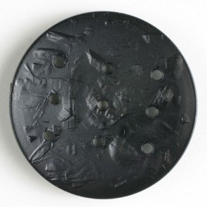Monogram button black