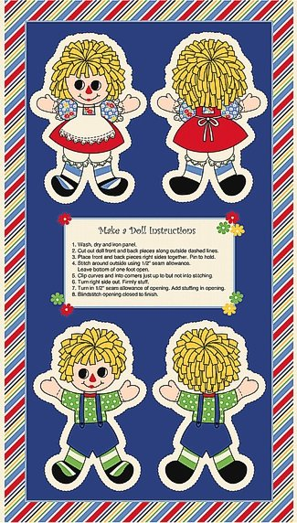 Holly's Dollies Doll Panel