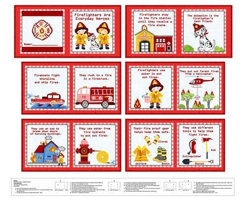 Firefighter Book panel - 36