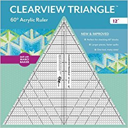 Clearview Triangle™ 60° Acrylic Ruler―12
