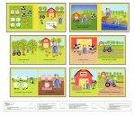Apple Tree Farm Book Panel