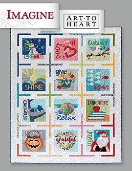 Imagine - Art to Heart by Nancy Halvorsen