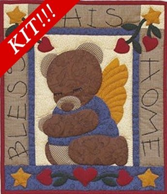 Bear Blessing Wall hanging Quilt Kit