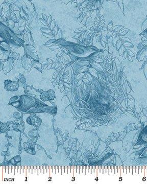 Birds of a Feather-nest blue