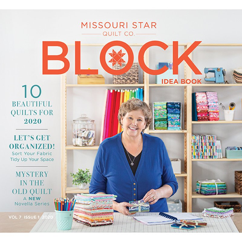 Block Magazine 2020 Volume 7 Issue 1 by Missouri Star Quilt Co.